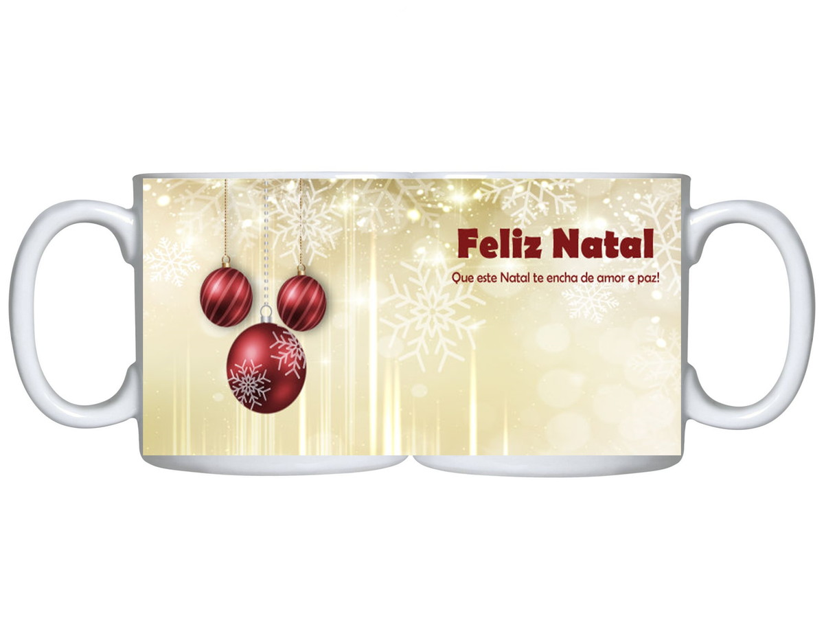 Caneca Feliz Ano Novo 2020 Natal Happy New Year Frases