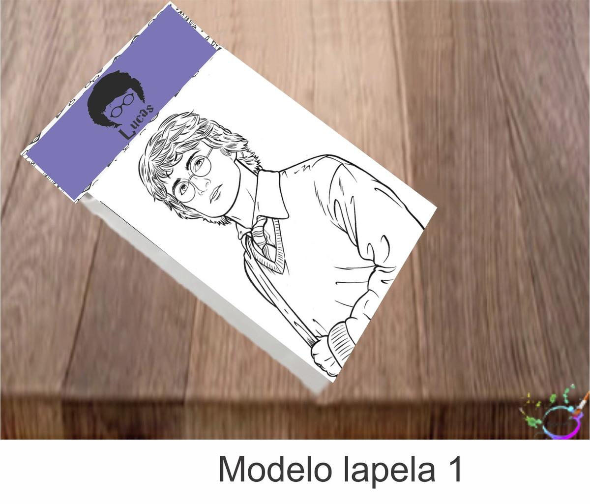 Desenhos De Colorir Harry Potter Modelo 2 No Elo7 Tipoart 10f8377