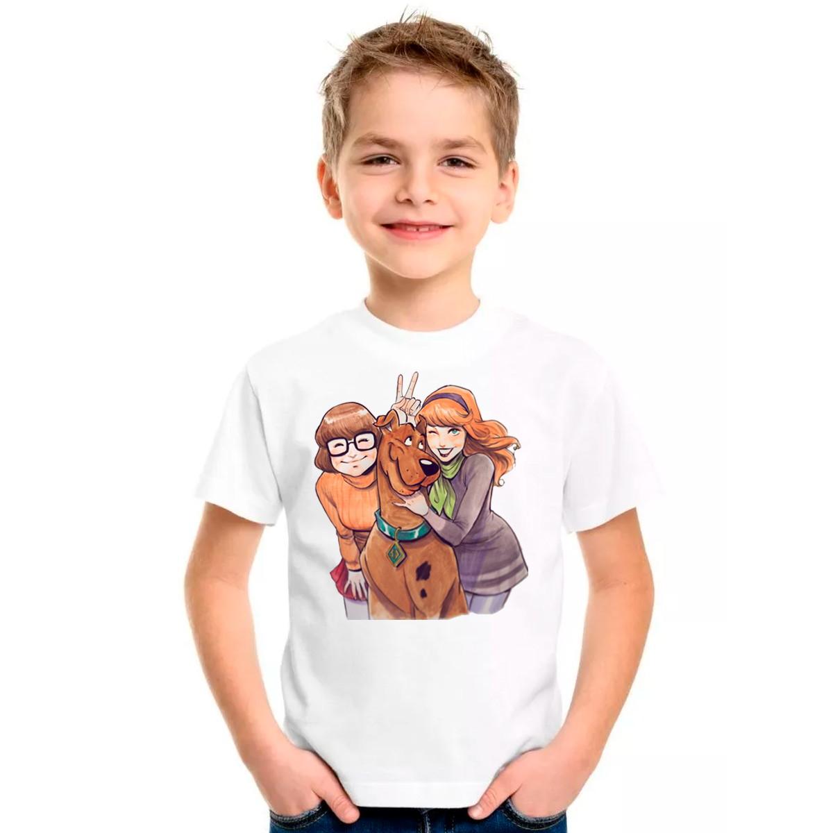 Camiseta Desenho Scooby Doo Camisa Velma Adulto Infantil No Elo7