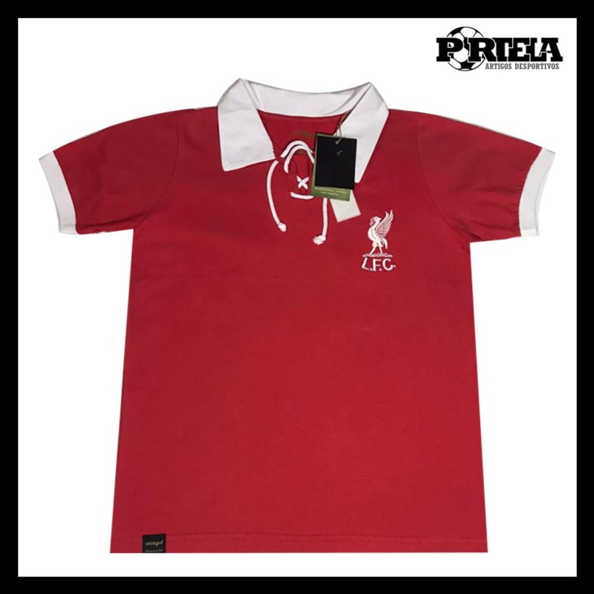 Camisa Vermelha Em Homenagem Ao Liverpool De 1970 No Elo7 Patricia Aparecida De Oliveira Portela 112749b
