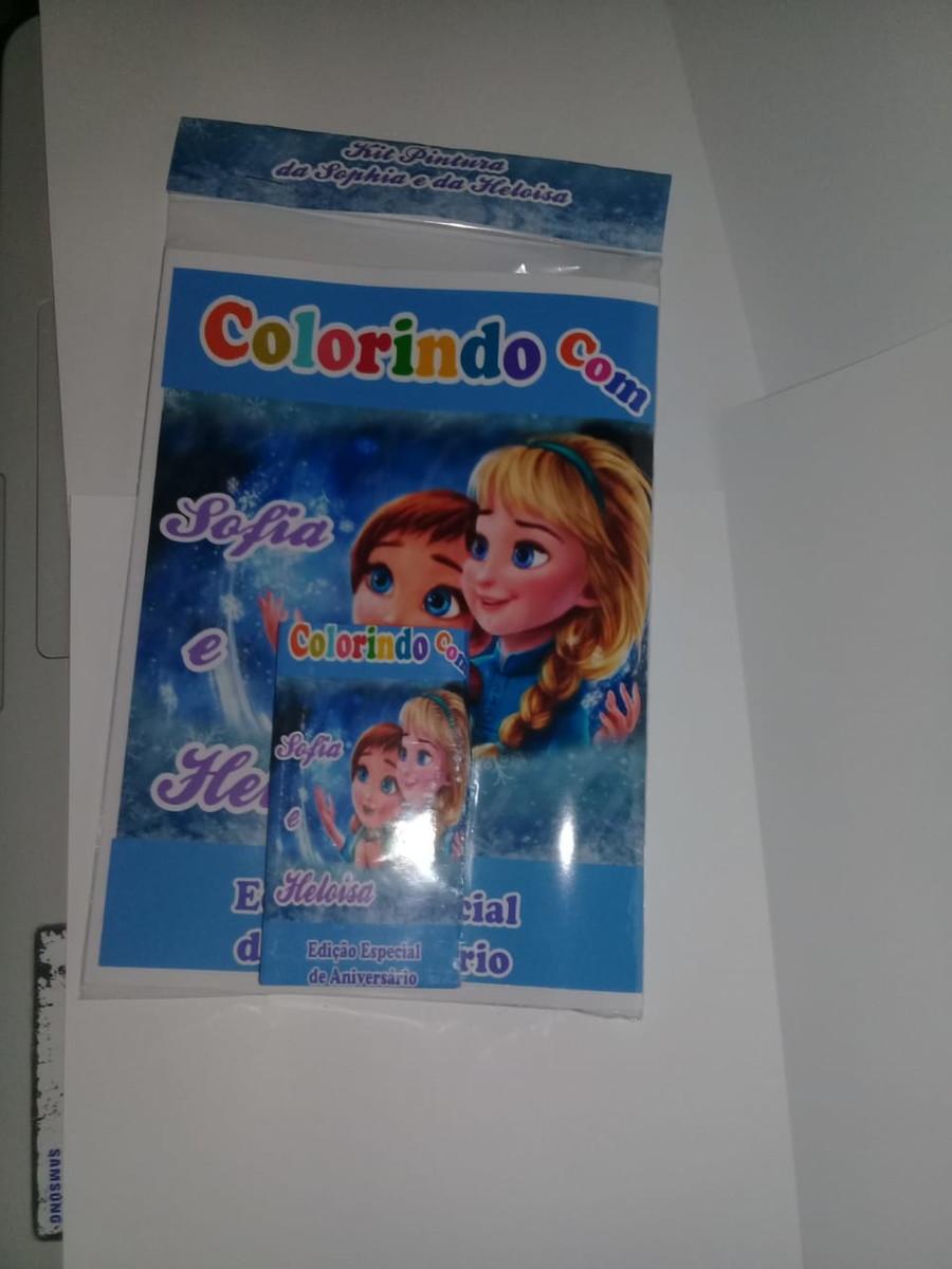 Kit Pintura Frozen Promocao No Elo7 May Lima Personalizados