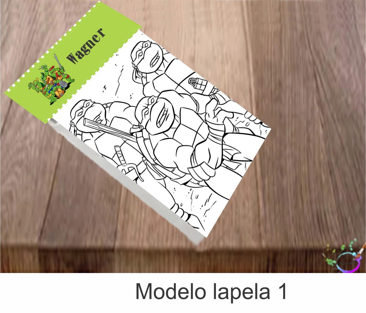 Desenhos De Colorir Tartaruga Ninja No Elo7 Tipoart 113308a