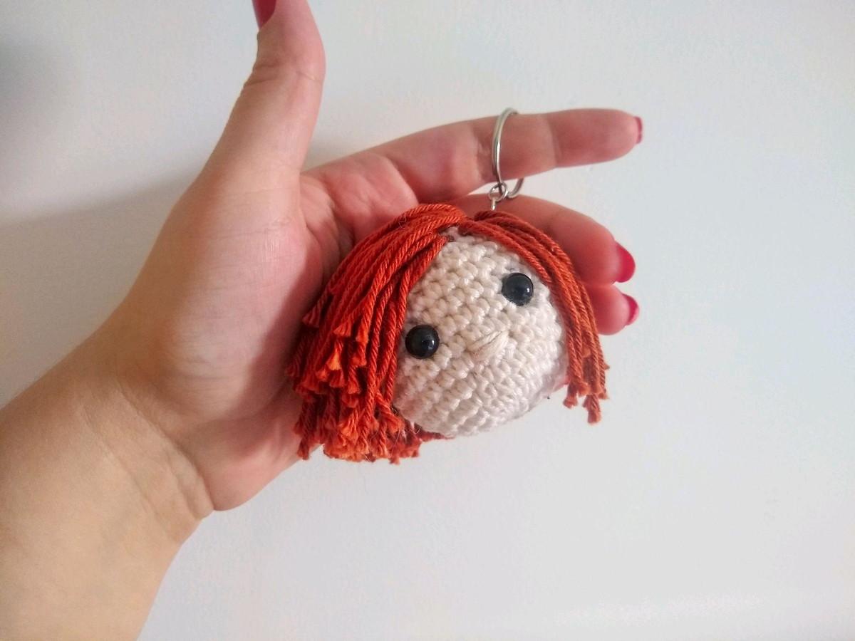 Boneca em amigurumi Maria Luisa croche com Simoni Figueiredo - YouTube | 900x1200