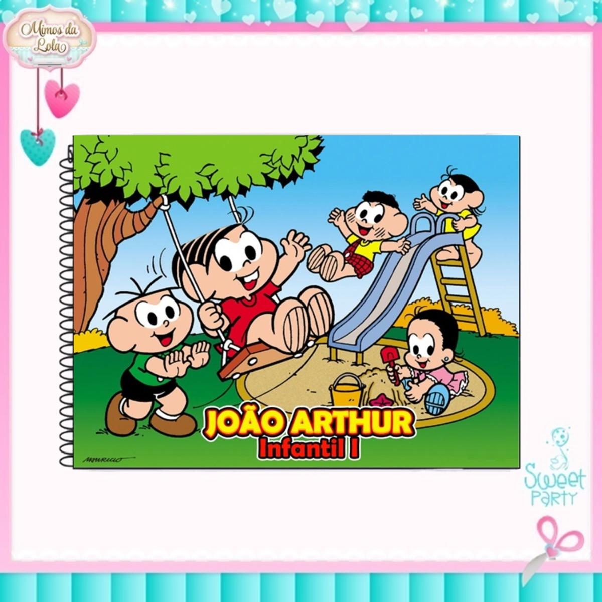 Caderno De Desenho Turma Da Monica No Elo7 Mimos Lola 1157abe