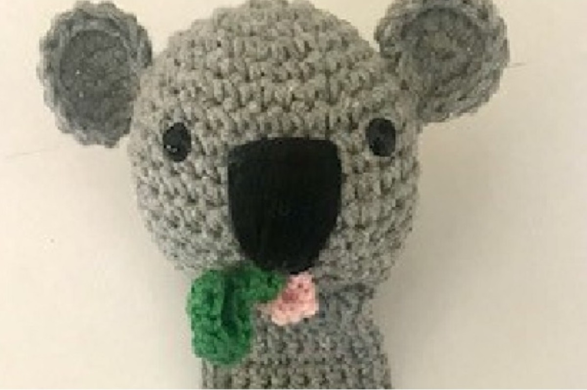 Amigurumi Crochet Mouse Bookmark -