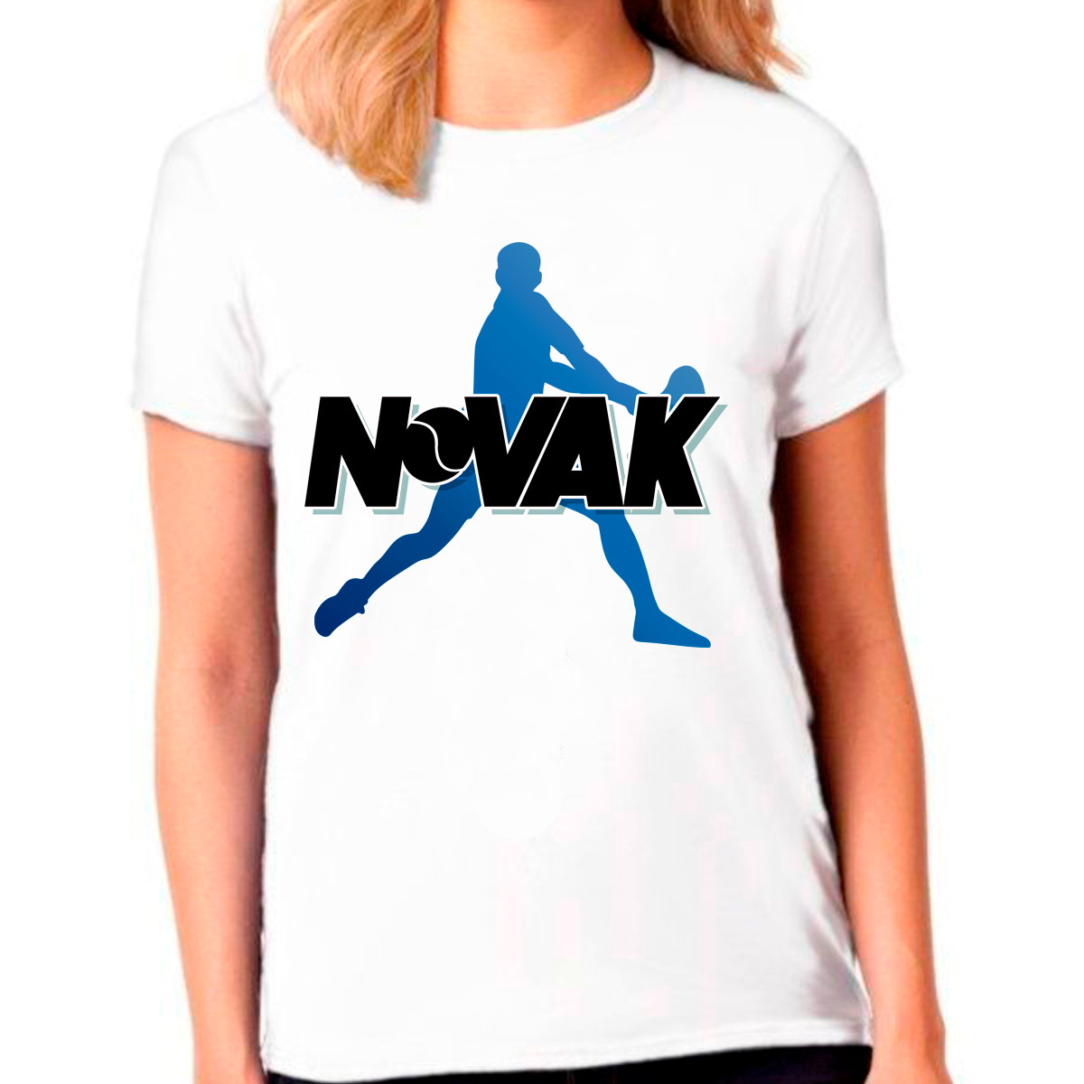 Camisa Camiseta Novak Djokovic Tennis Esporte Baby Look no Elo7 | CAMISETAS DESIGN (1164877)