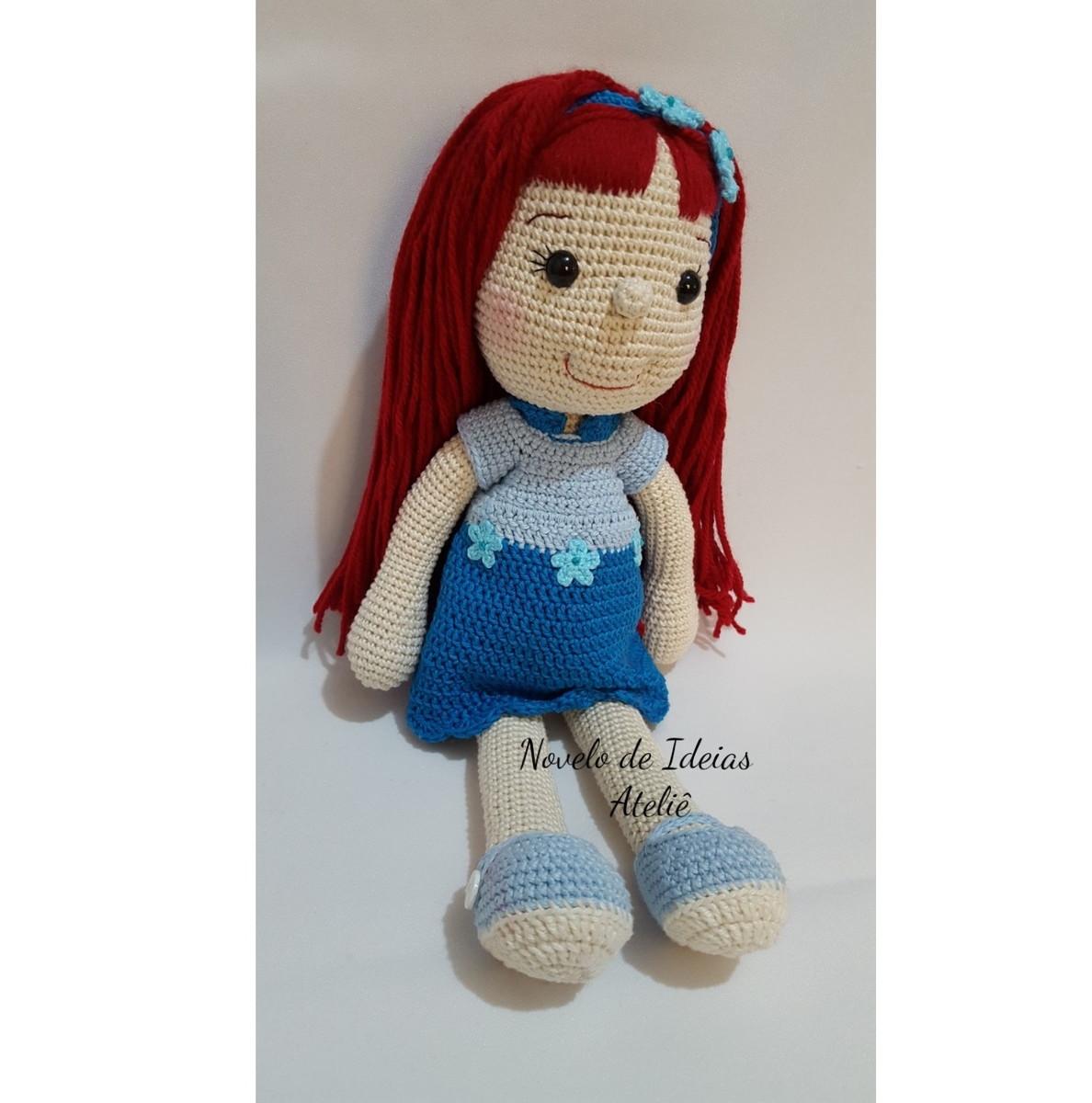 Boneca Amigurumi De Croche, Artesanato, Brinquedo - R$ 139,90 em ... | 1200x1188