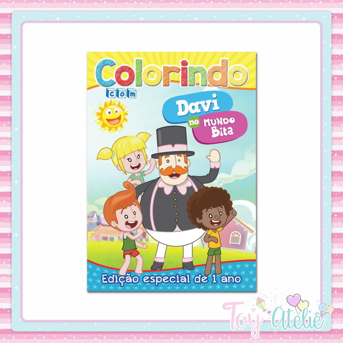 Livrinho De Colorir Mundo Bita No Elo7 Toy Atelie 1169a96