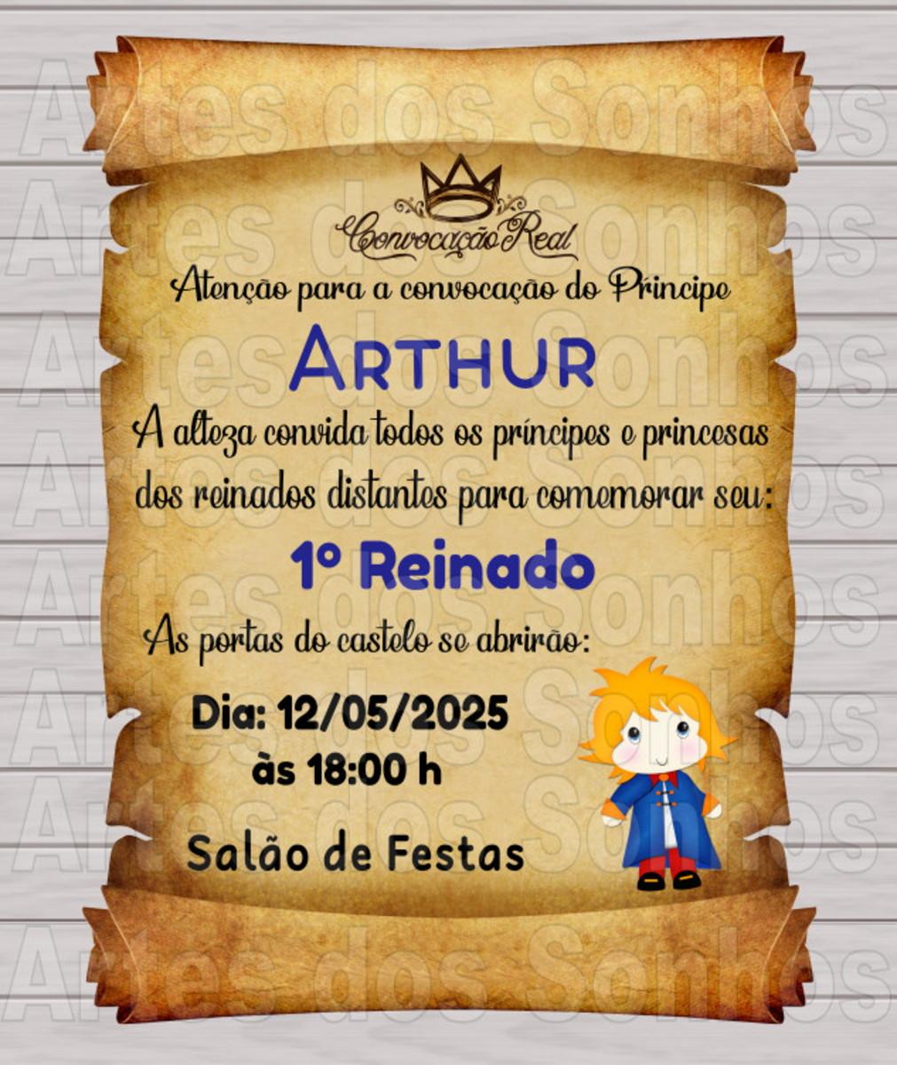 Convite pergaminho Pequeno Príncipe no Elo7 | Artes dos Sonhos (817E4D)