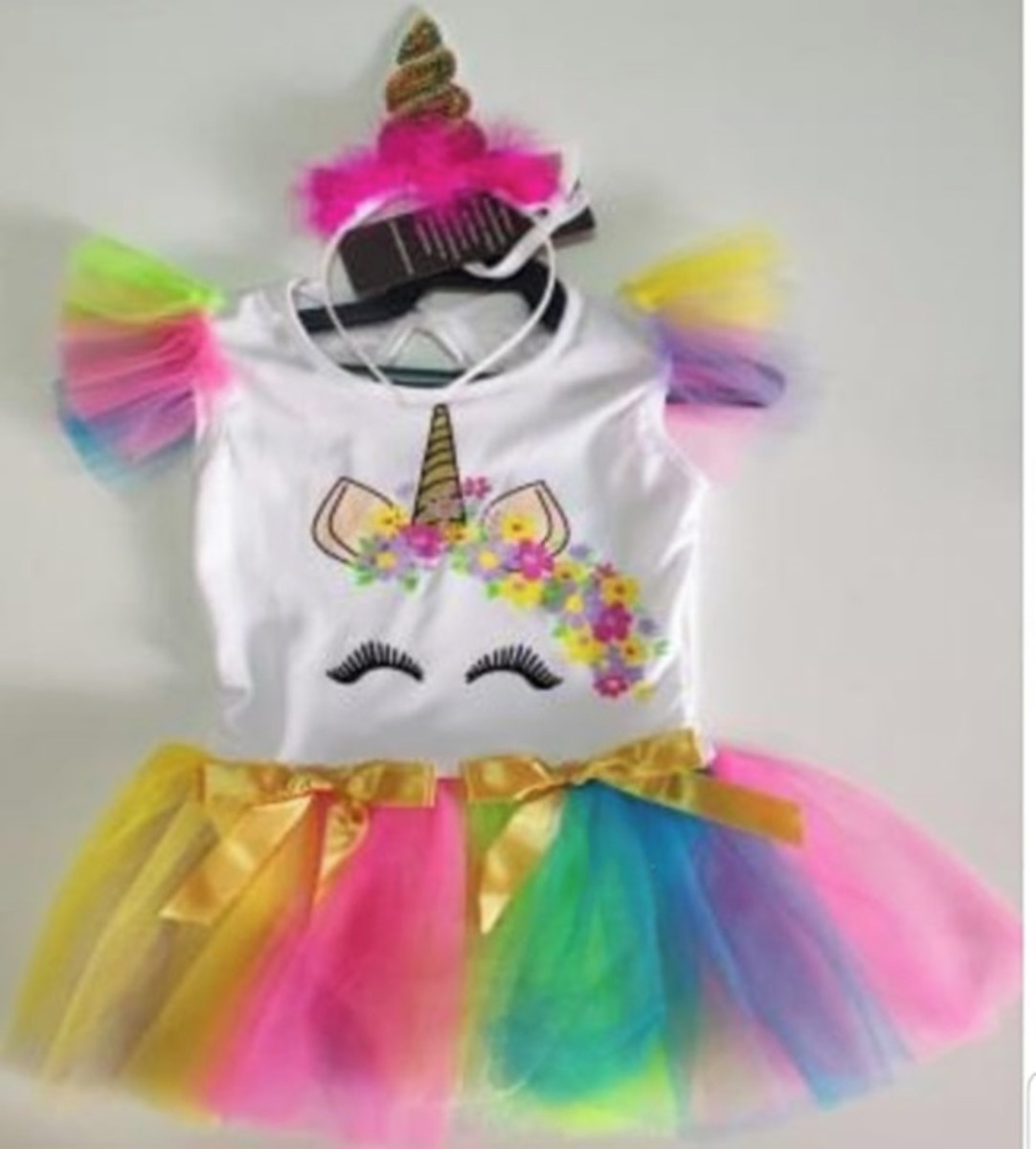 Fantasia Unicornio Infantil Com Tiara No Elo7 Paula Galvez 11cc53b
