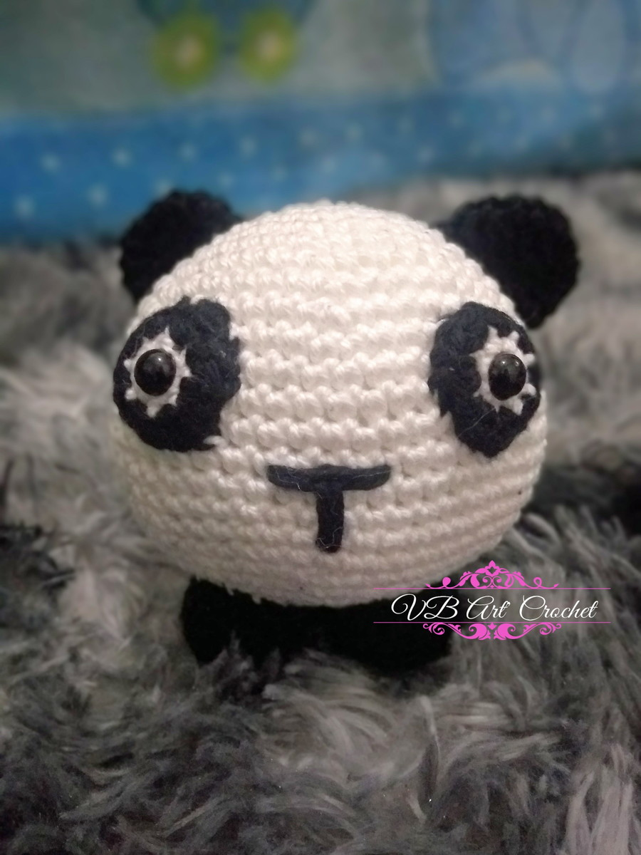 Cute Crochet Panda Free Patterns (com imagens)   Amigurumi de ...   1200x900
