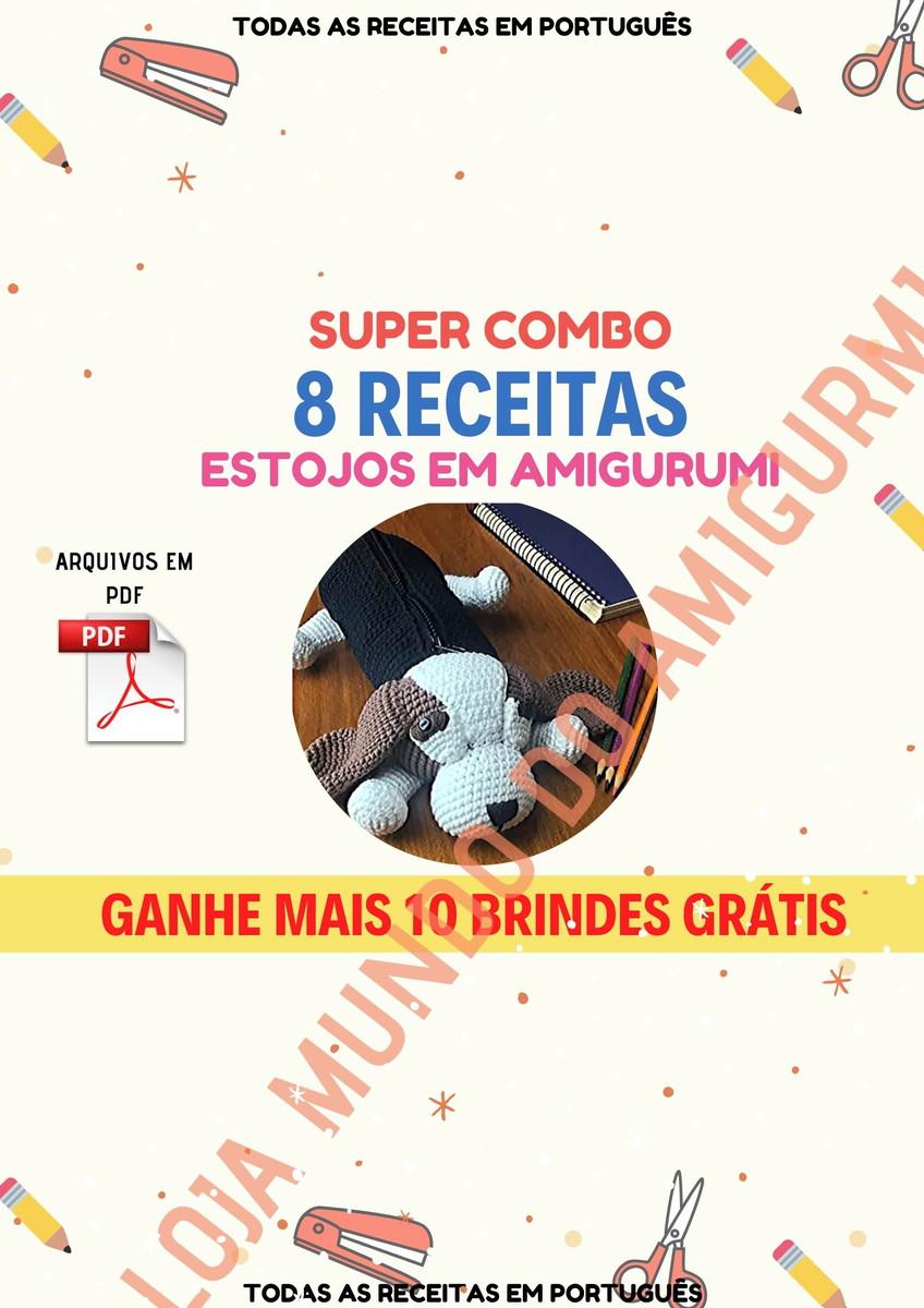 Amigurumi Receitas Português - Cachorrinho Crochê Receitas Top #21 ... | 1200x848