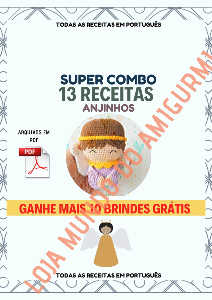Amigurumi Receitas Português - Receitas em Portugues de Amigurumi ... | 1200x848