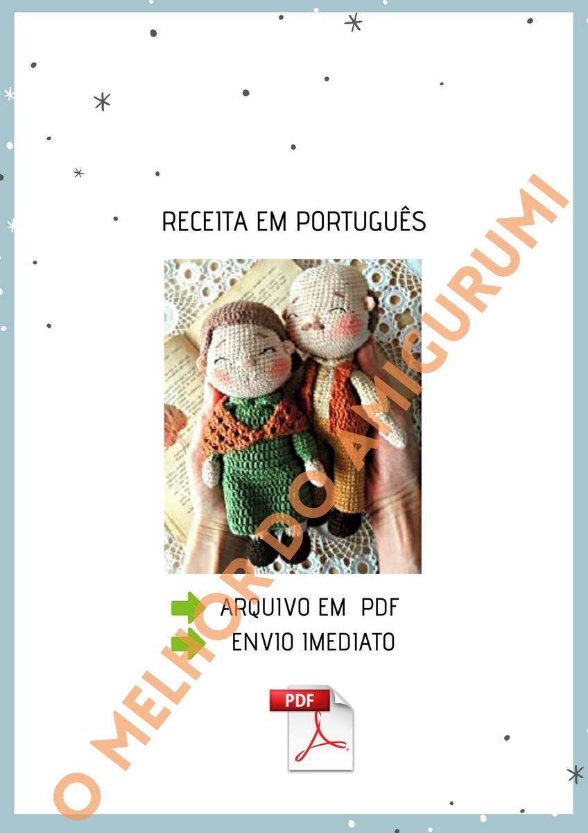 Receitas Amigurumi em Português, Receitas Amigurumi Boneca gratis ... | 1200x848