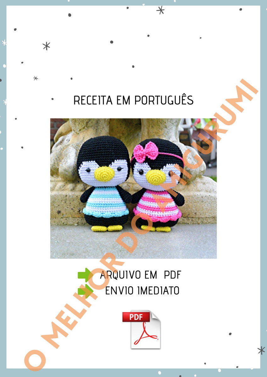 Amigurumi for Beginners Amigurumi Penguin Recipe – Part 2: Head ...   1200x848