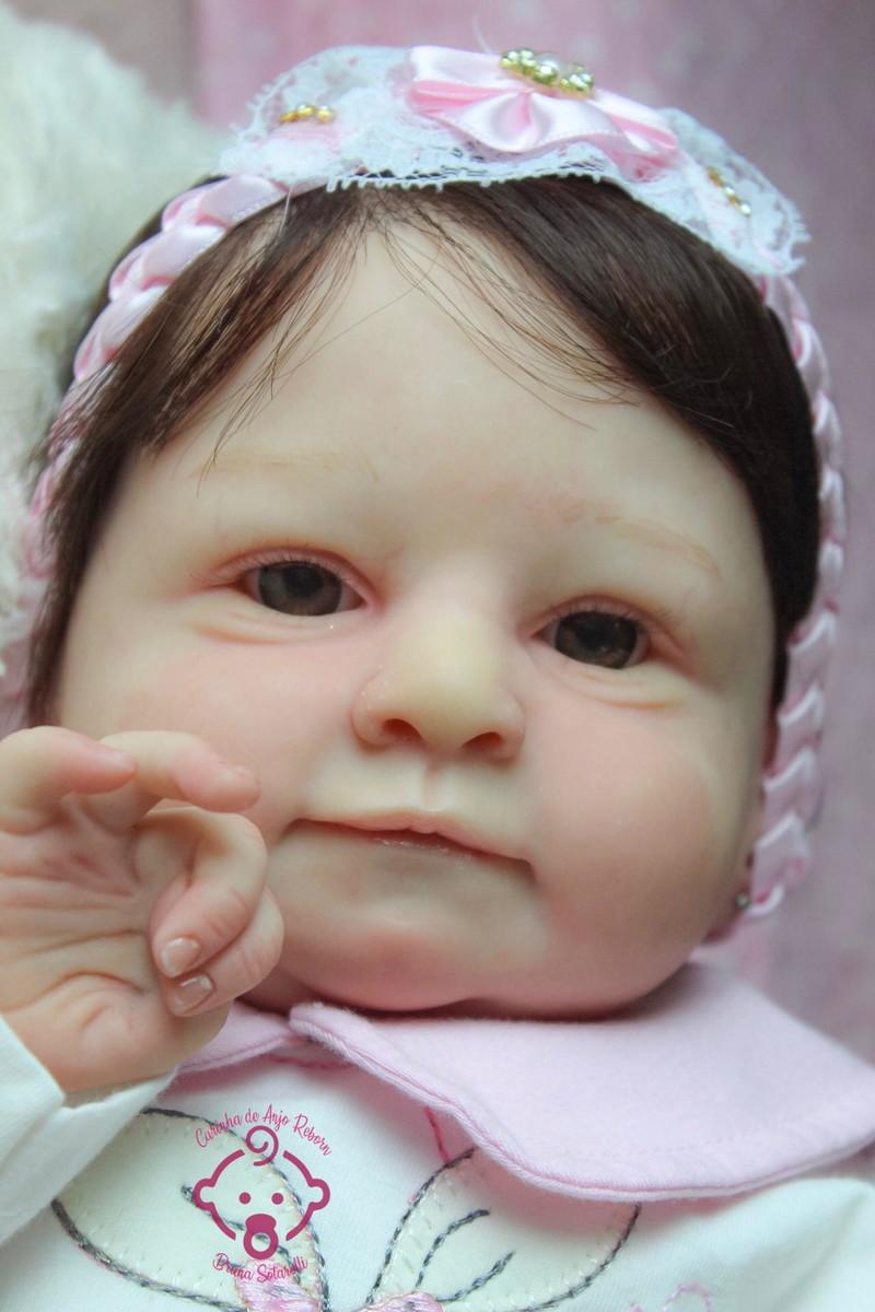 Bebê Reborn sobre encomenda no Elo7 | Carinha de anjo ...