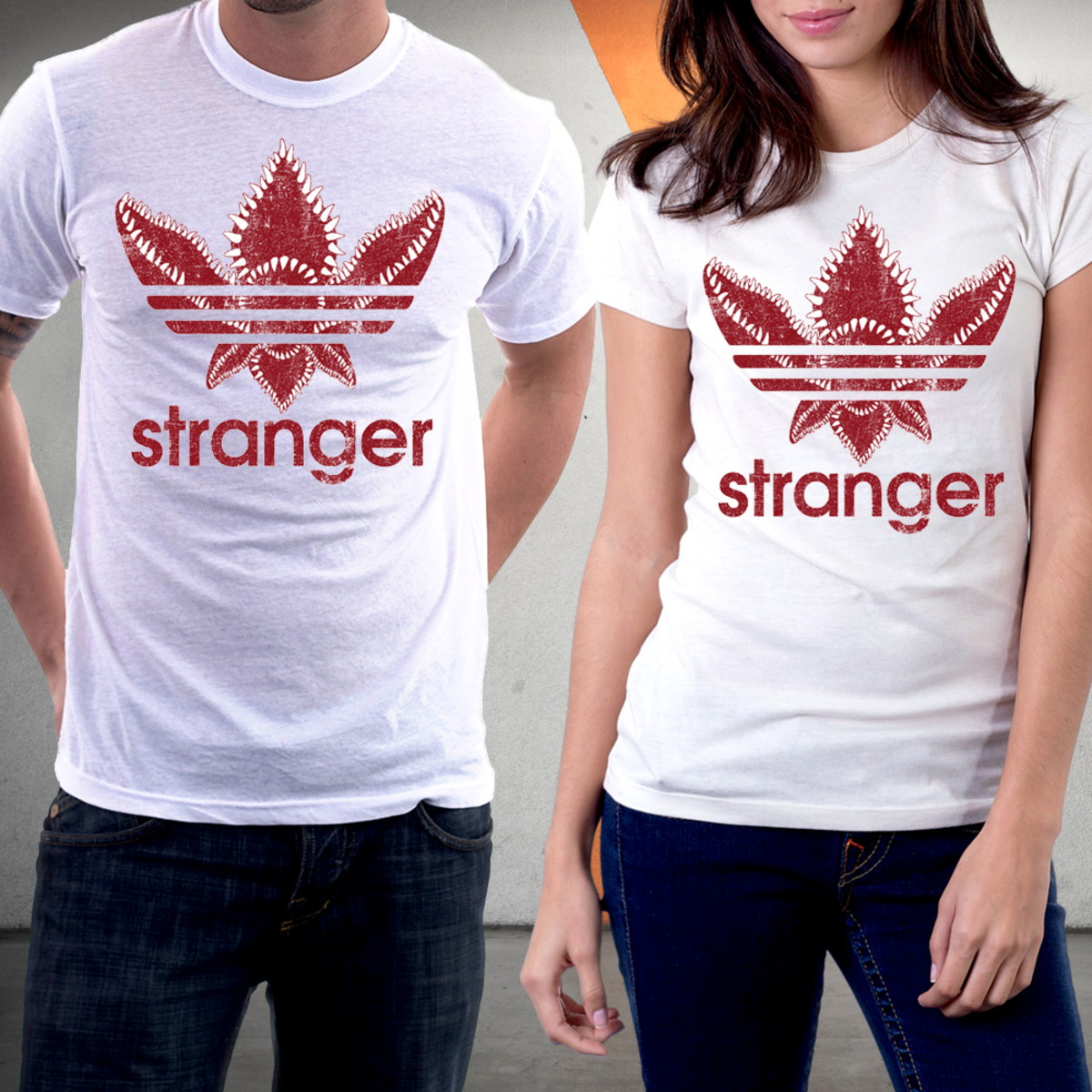 ella es sin cable Por favor  Camiseta Stranger Things Adidas Demogorgon Demodog Blusa no Elo7 | X-Force  The Anti-Fashion Store (AE74FA)