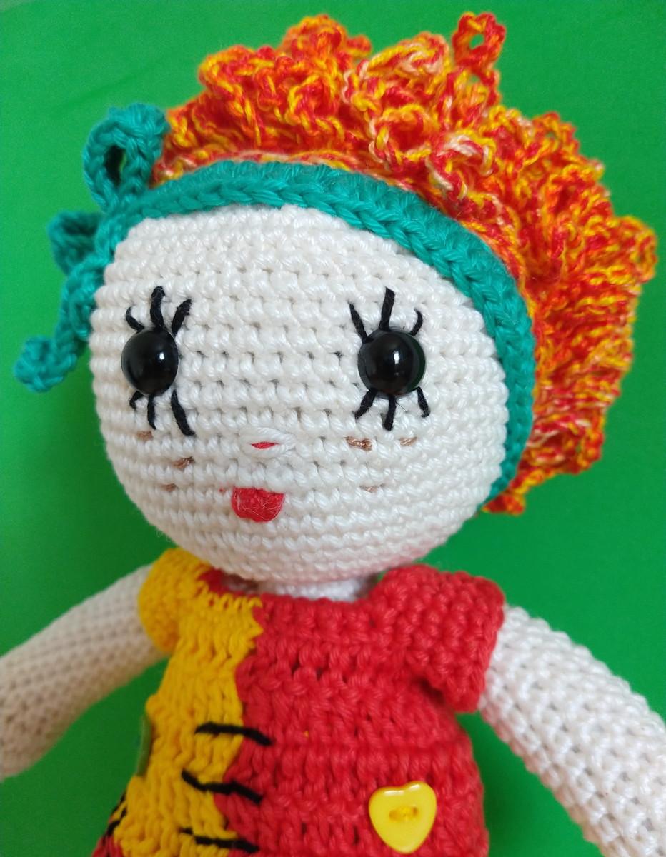 Boneca Emília em Amigurumi | Boneca emilia, Bonecas, Como fazer boneca | 1200x932