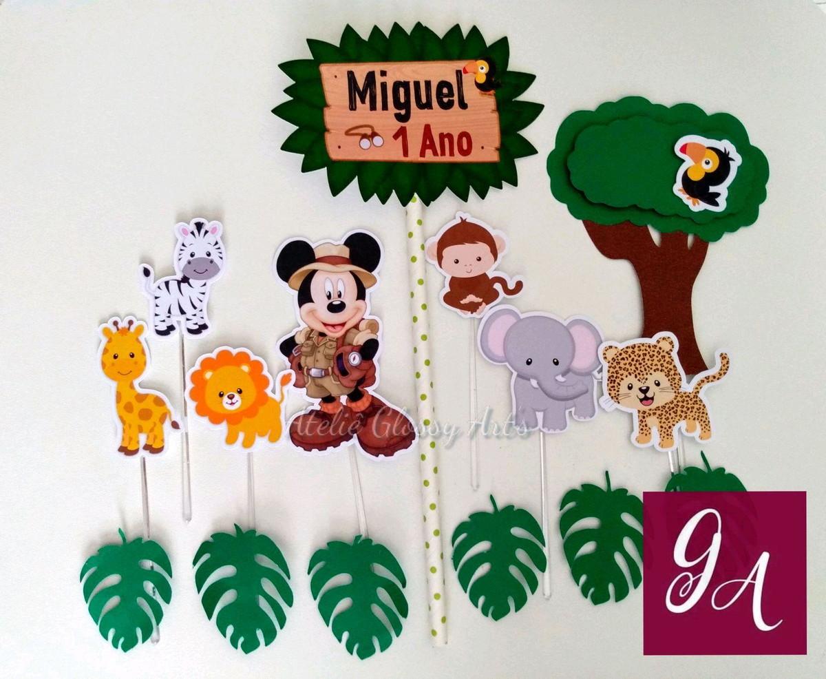 EUZINHA: Festa Safari!!! Kit para imprimir em casa!!