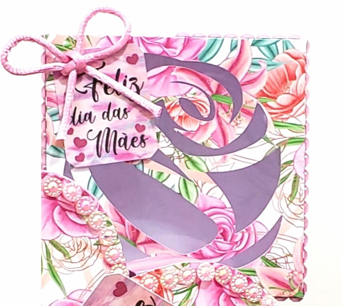 Arquivo (PDF) Caixa Doces Rosa Dia das Mães - Tesourete no