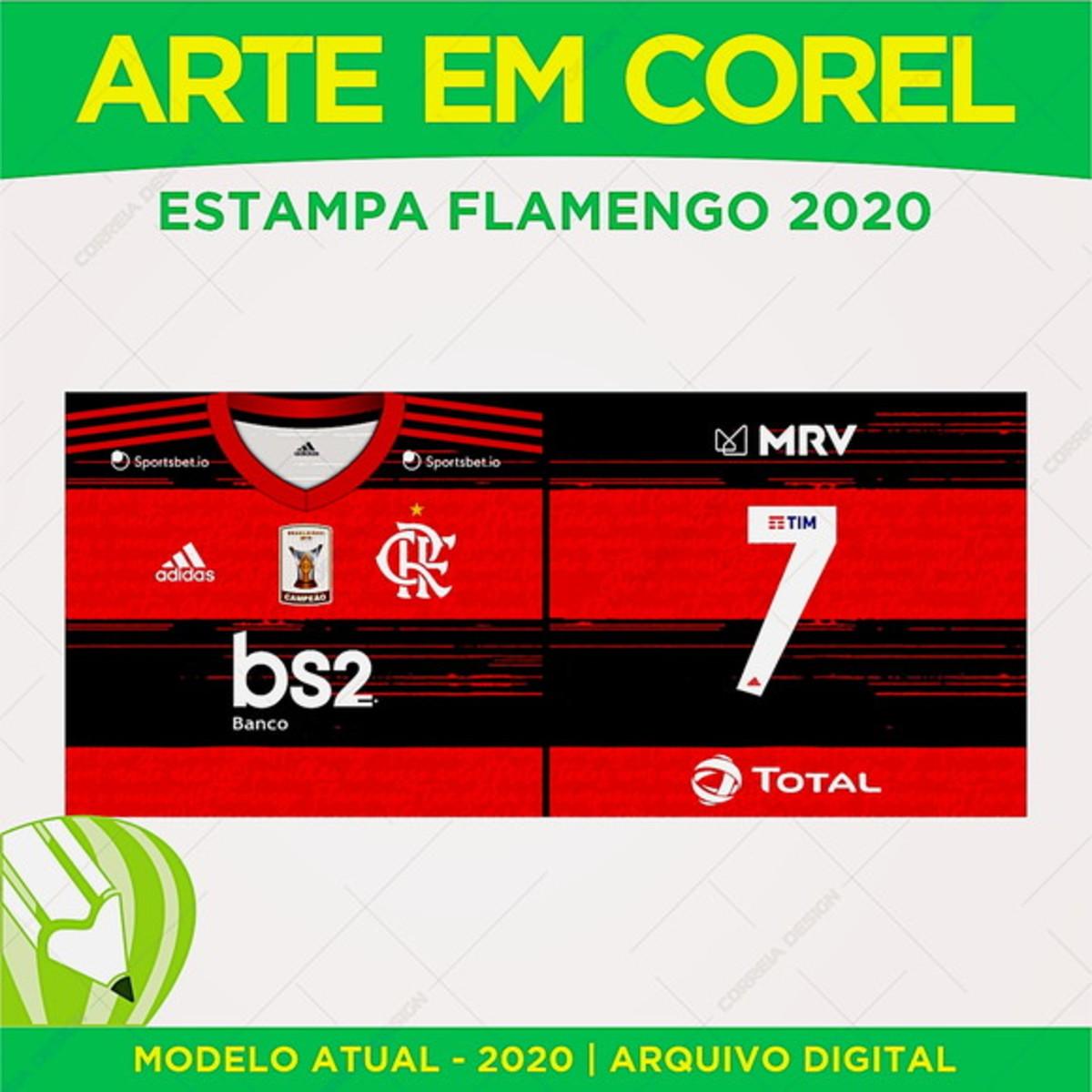 Arte Caneca do Flamengo 2020 2021 Fonte Inc no Elo7 | Pix ...
