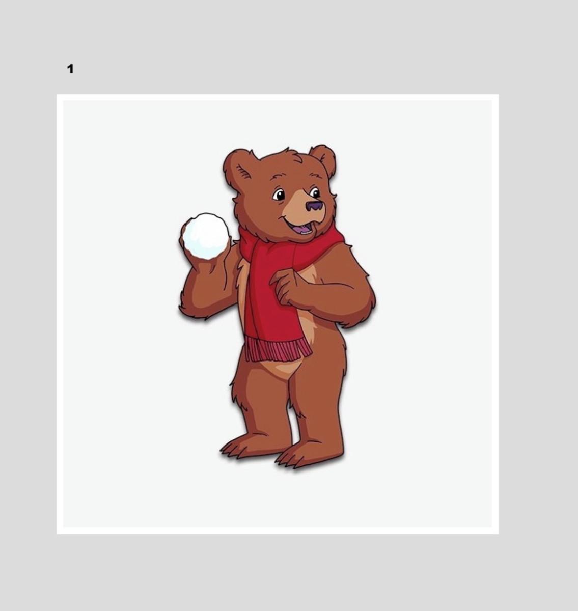Quadro O Pequeno Urso Desenho Animado Anos 80 90 Ursinho No Elo7 Luar Vegano 11c76b4
