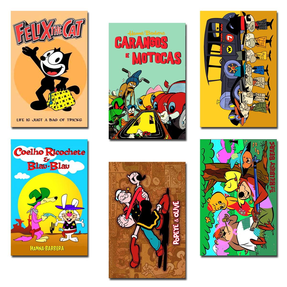 Imas Legais Desenhos Animados Antigos 03 No Elo7 Manganeticos 129de46