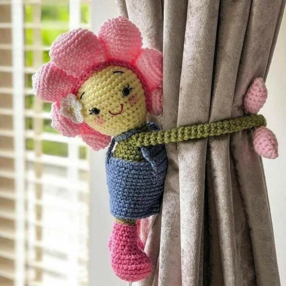 Fleurs en crochet - Rose | Flor de crochet, Decoração de crochê ... | 1200x1200