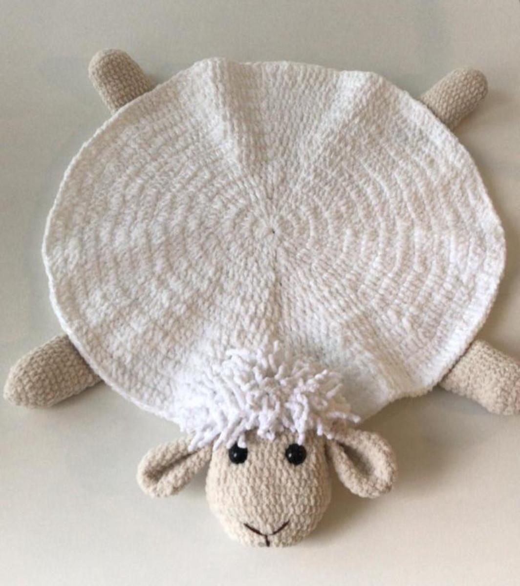 Amigurumi em Crochê Ovelha Bibi   Aprendendo Crochê   1200x1064