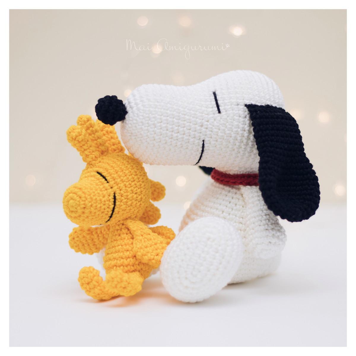 Crochet Snoopy Amigurumi - Hecho a mano Crochet Amigurumi Toy Doll ... | 1200x1200