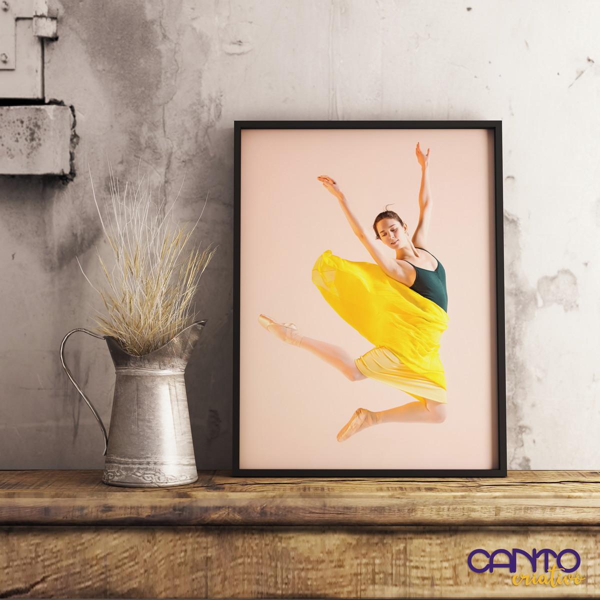 Quadro Com Moldura Dance Studio No Elo7 Canto Criativo 12d438d