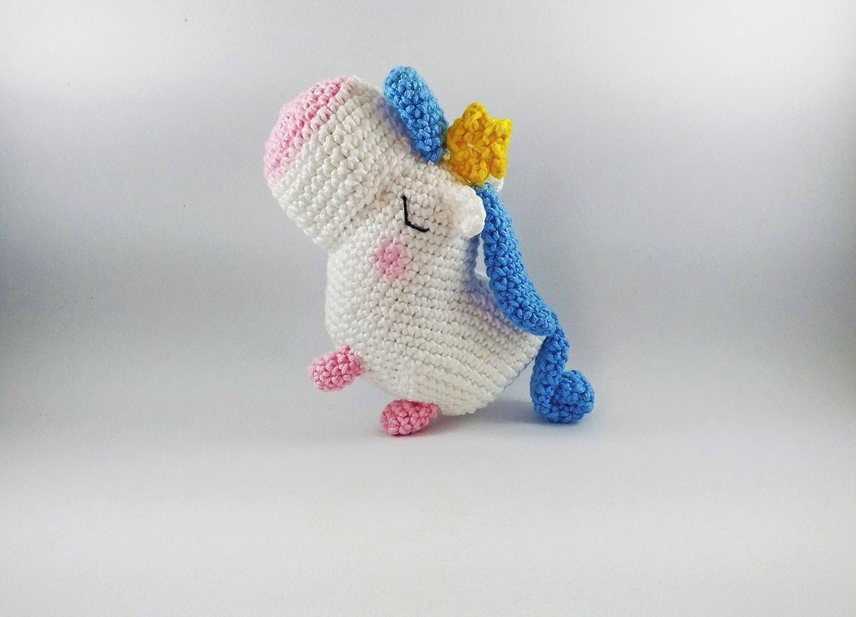 Amigurumi unicorn plush, FREE SHIPPING, Unicorn amigurumi, Stuffed ... | 865x1200