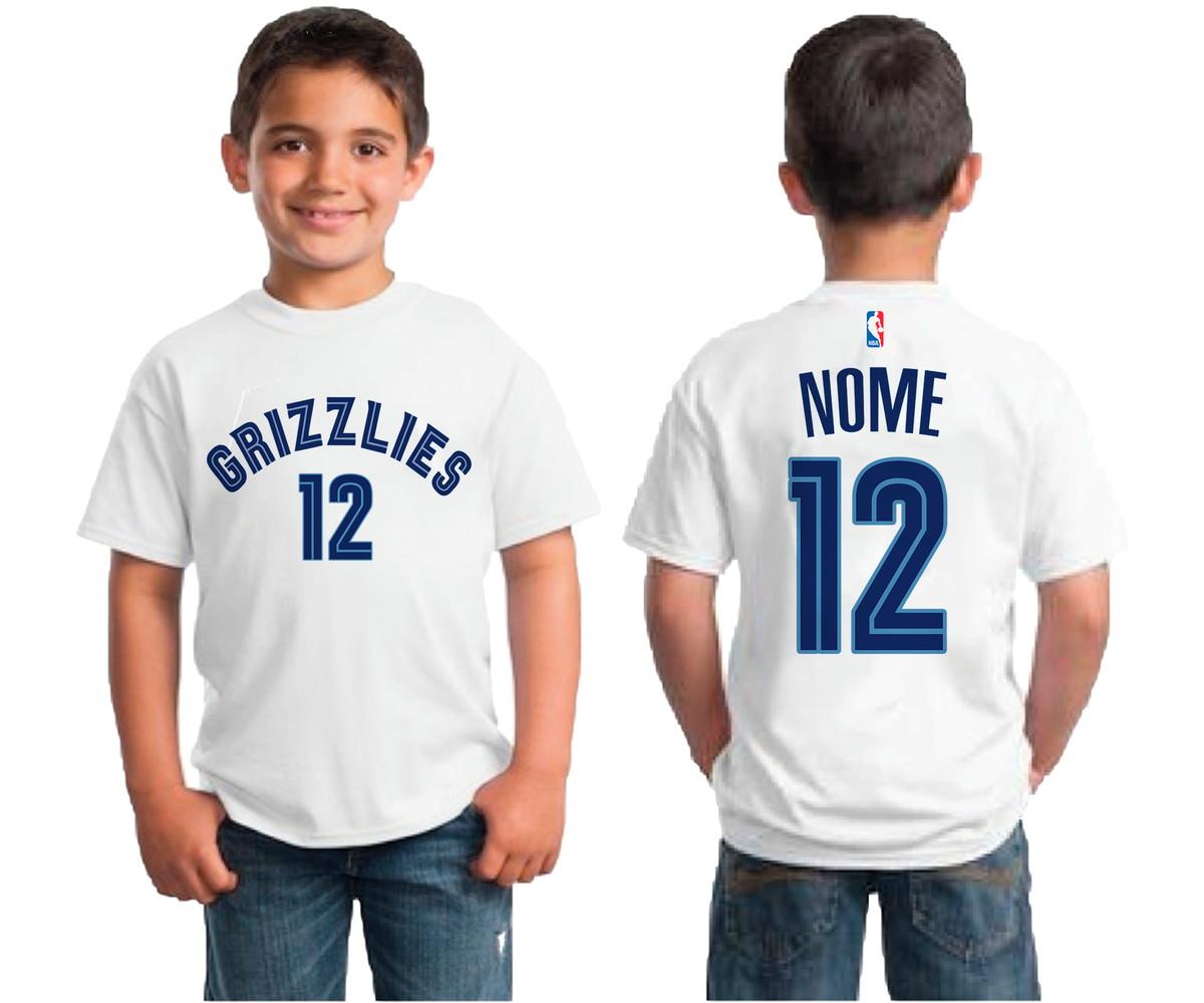 Regata Memphis Grizzlies Logo Basquete Nba Camiseta 2020 ...