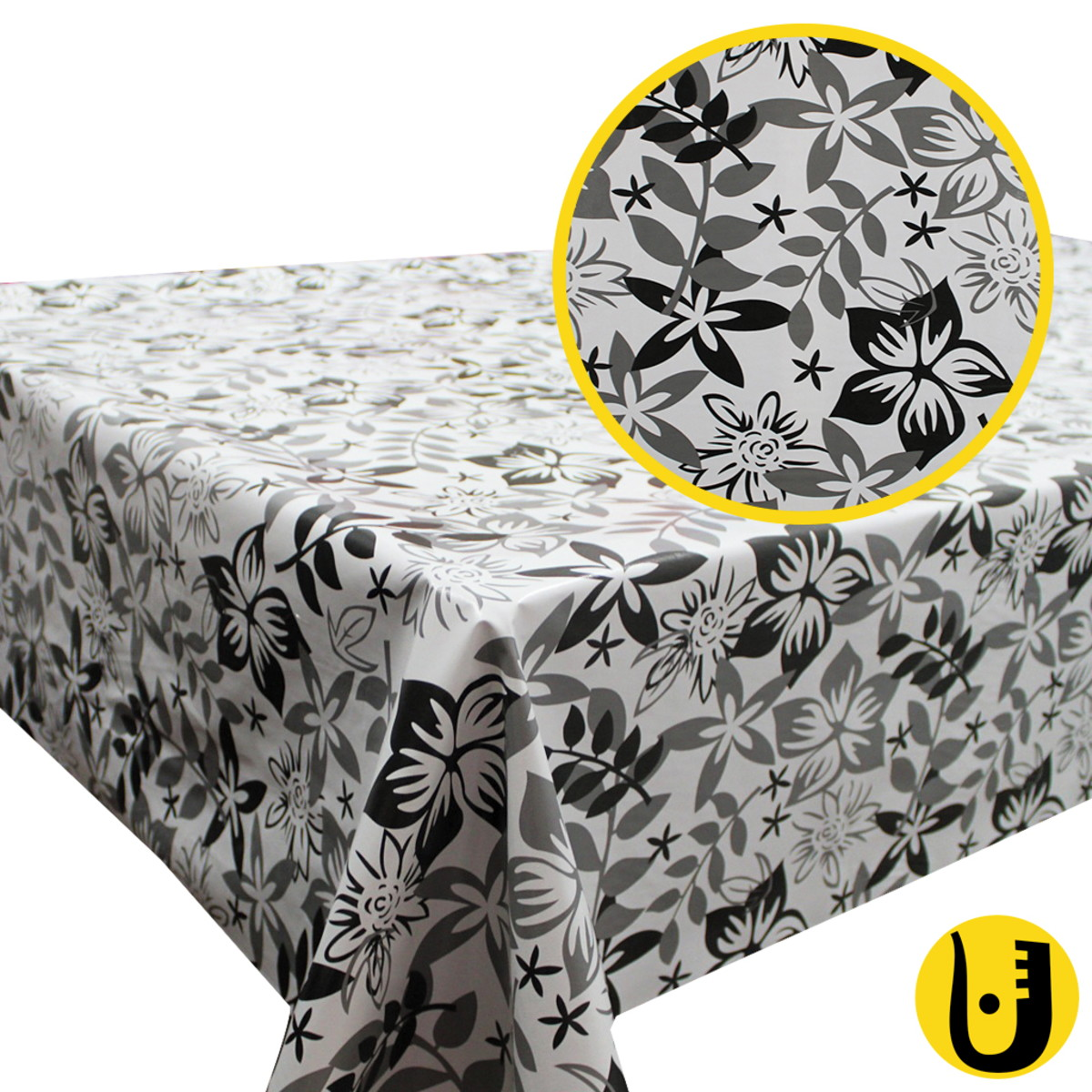 Toalha de Mesa Térmica Impermeável 1,40x2,00 Floral no ...