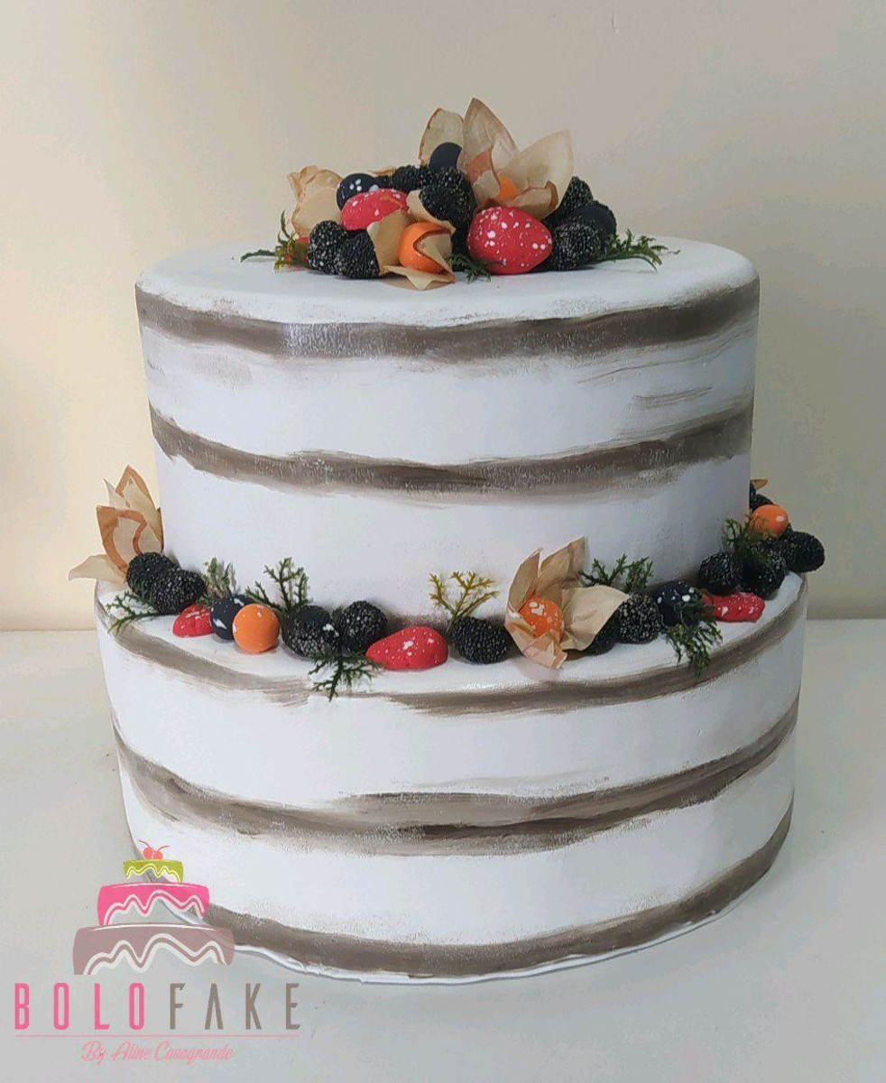 Naked cake no Elo7 | Helas Sweet Cake (D57890)
