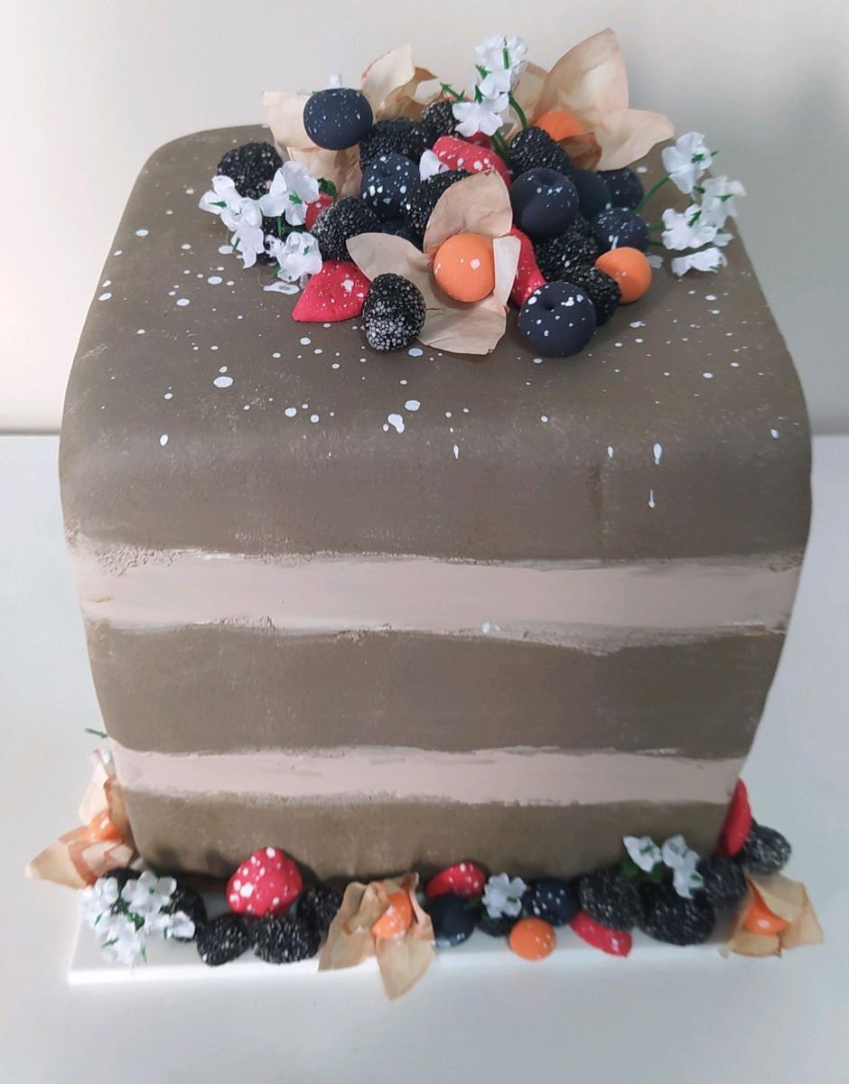 Naked Cake no Elo7 | Doceria da Thais (7A7D1F)