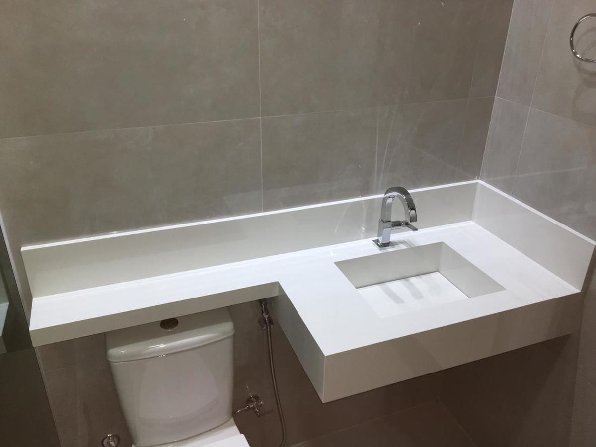 Bancada De Banheiro Com Cuba Esculpida Em Porcelanato No Elo7 A S Montagens Em Porcelanatos 1363d48