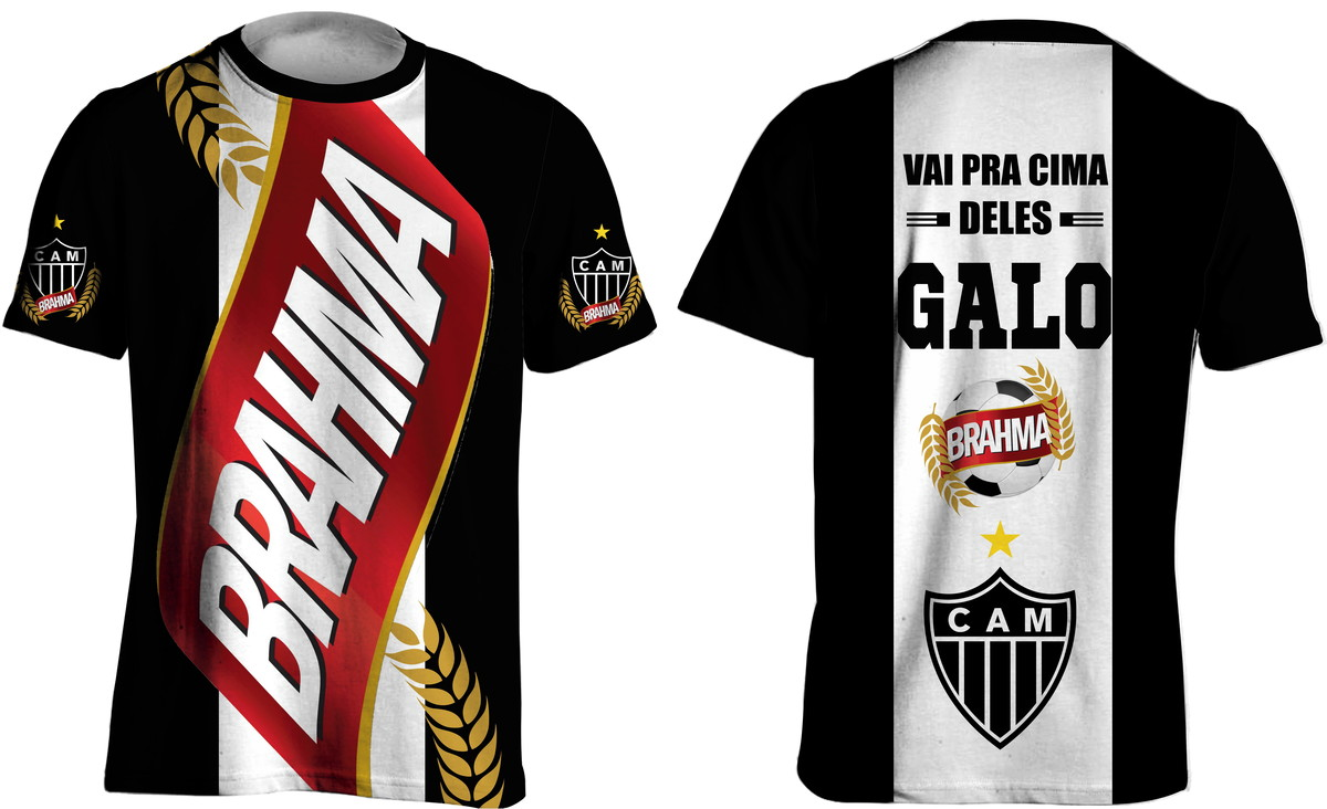 Camisa Brahma Atletico Mineiro No Elo7 Rp All Style 138982c
