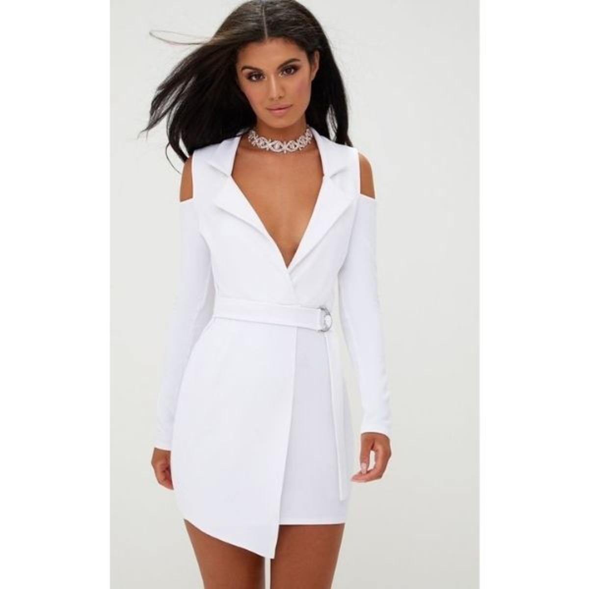 Vestido ombro vazado no Elo7 | Langamer Boutique (13CFD55)