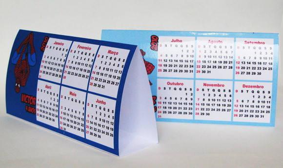 Homem aranha calend rio de mesa 2013 no elo7 marga - Calendario de mesa ...