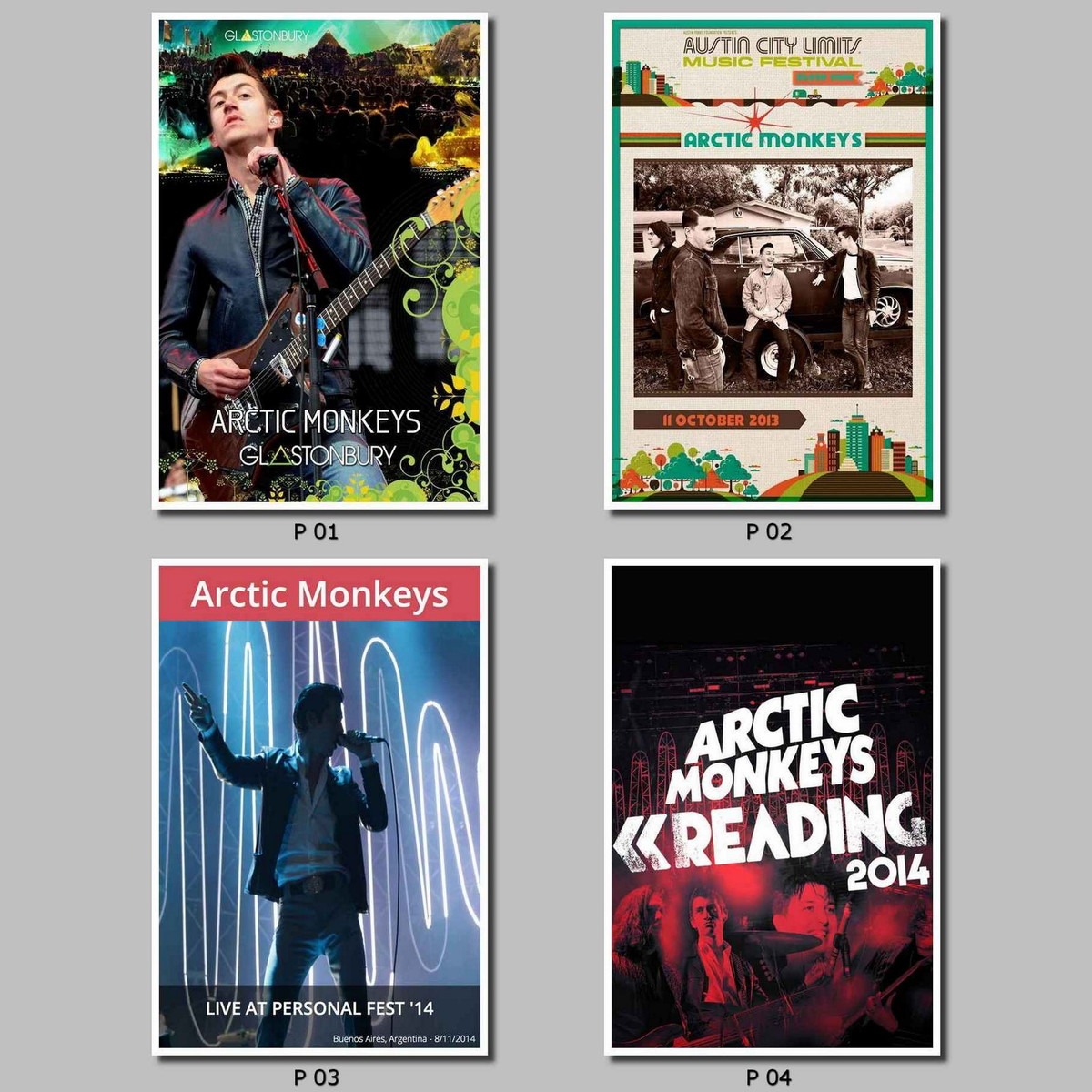 Poster Bandas Musicos Arctic Monkeys No Elo7 Poster Cia 143189d
