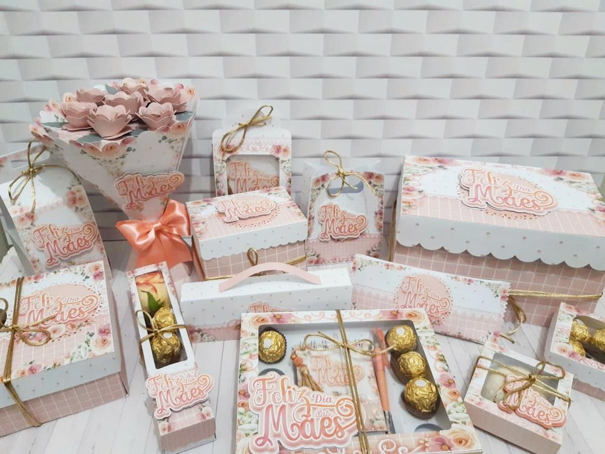 13 arquivos de corte dia das mães floral rosa studio pdf