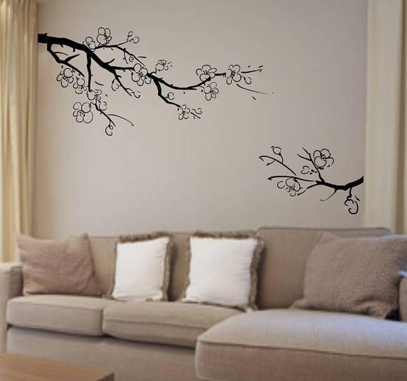 Aparador Para Ficar Atras Do Sofa ~ Adesivo de parede ADESIVOS COMPRAR E COLAR