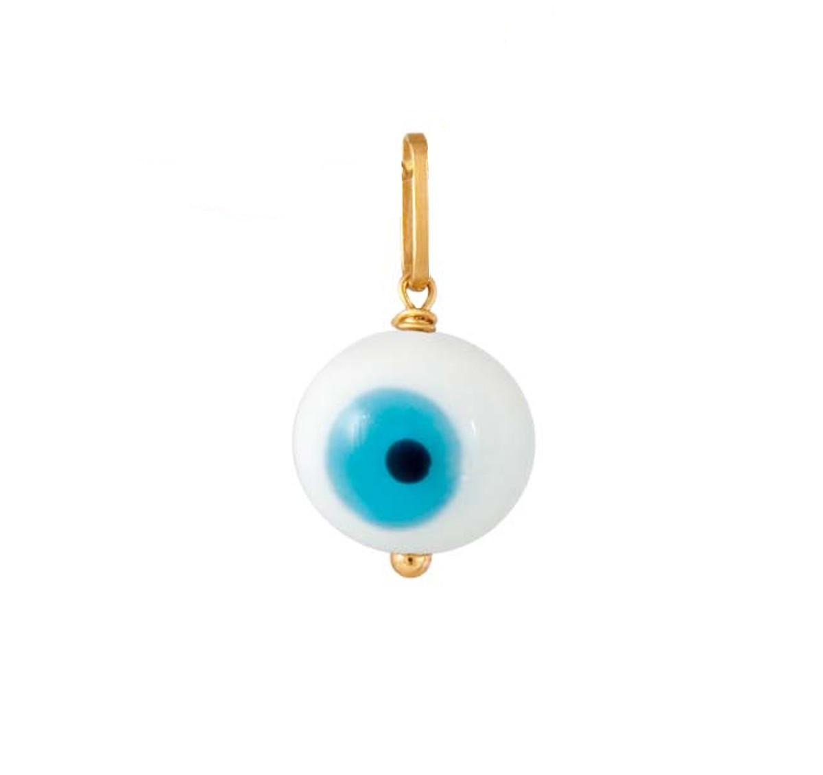 4303d973047a9 Pingente olho grego ouro no Elo7   Paula Ankier (2A32F6)
