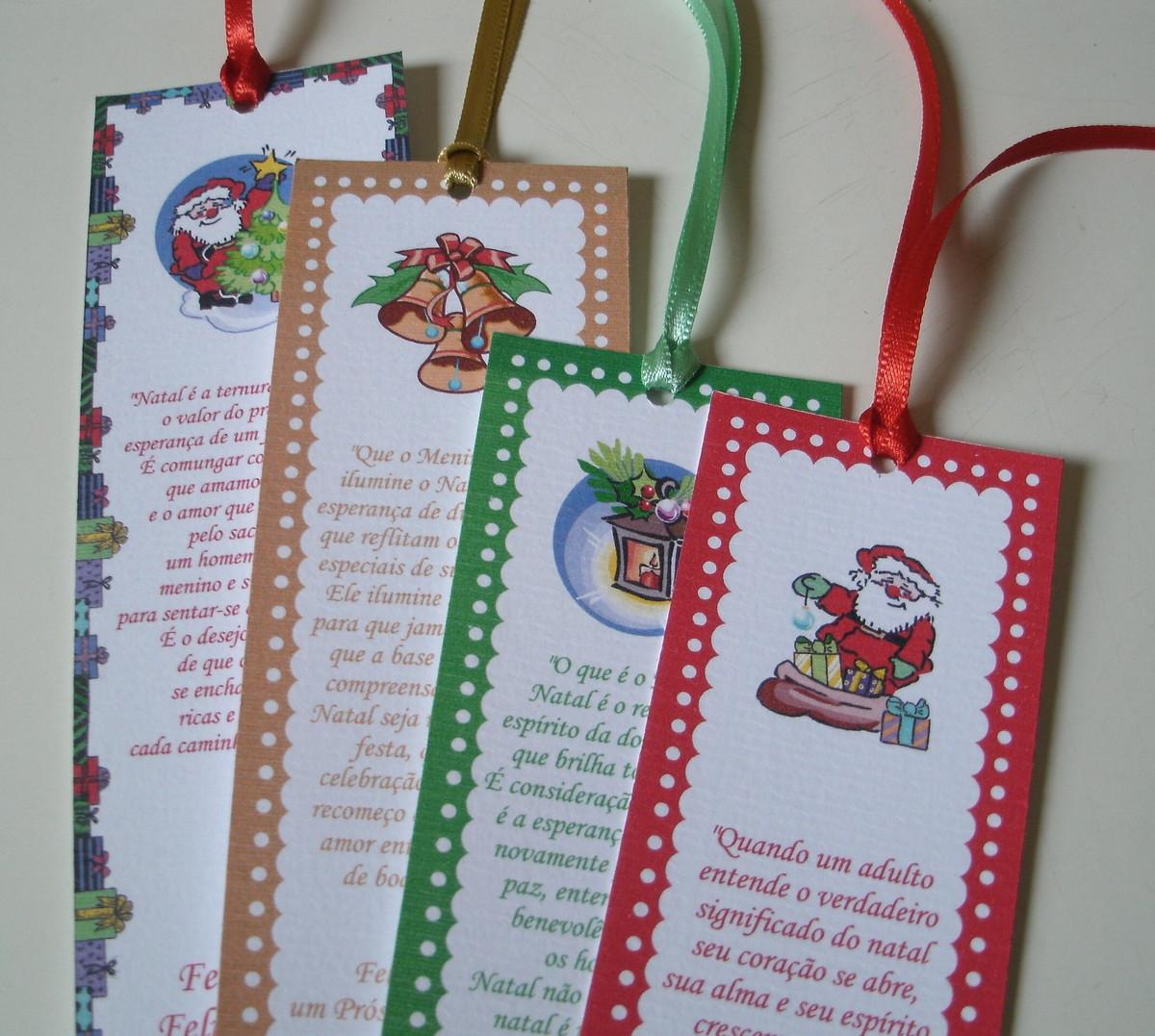 Marcador de Livro Natal no Elo7 | Flamity Lembrancinhas e