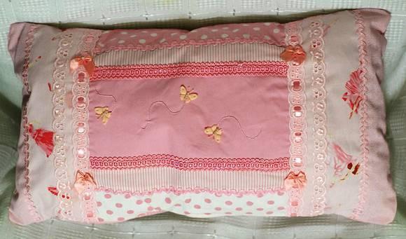 Capa de almofada recortes estilo patch no elo7 miss - Estilo patchwork ...