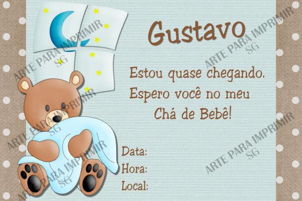 Convite Chá De Bebê 8 No Elo7 Arte Para Imprimir 206ca4