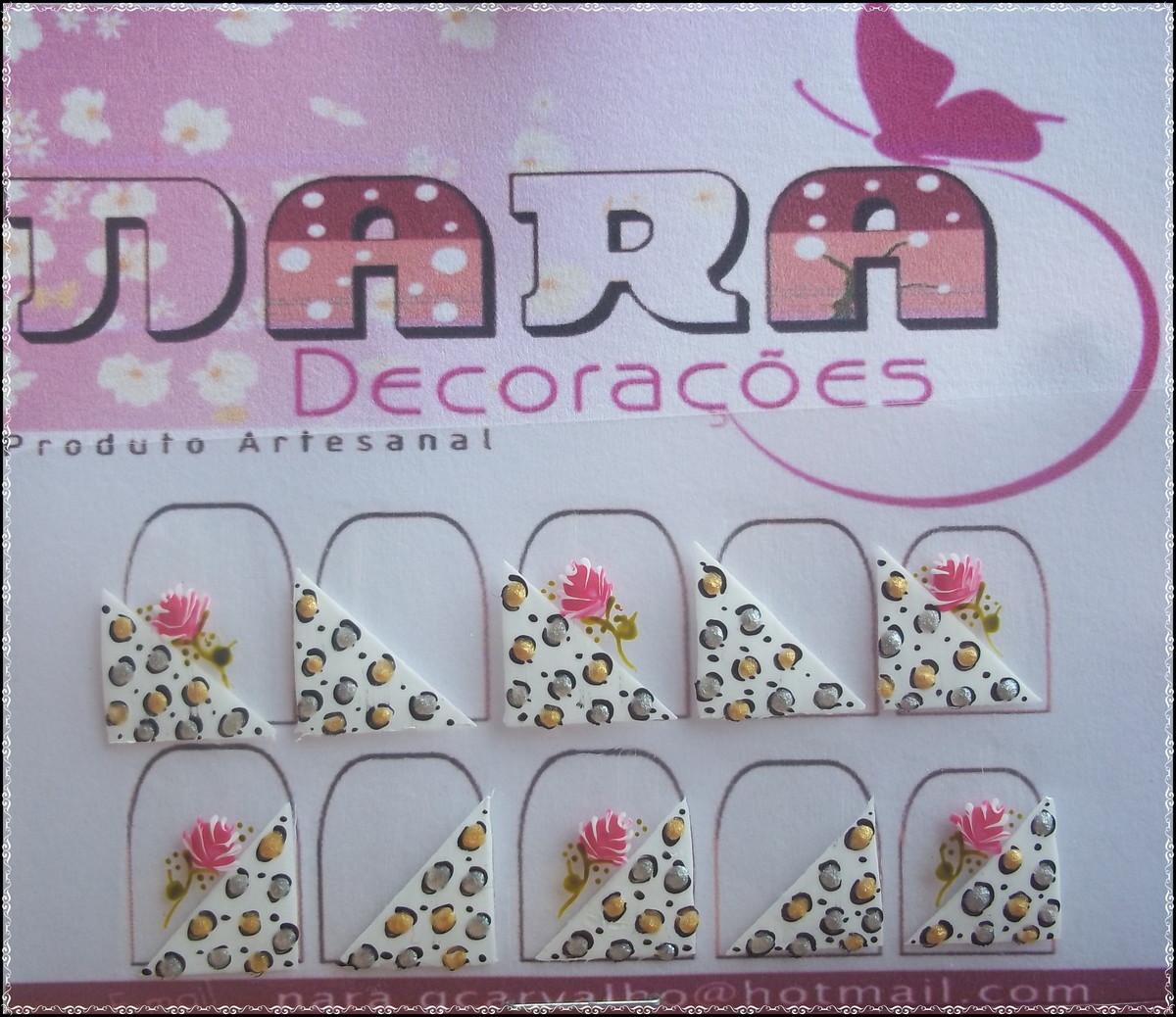 Artesanato Brasileiro Em Sp ~ Adesivo de francesinha com oncinha no Elo7 Nara Decorações (2BBA9D)