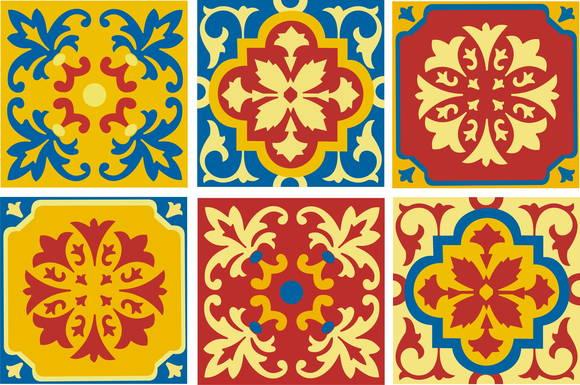 Adesivos trio de azulejos portugueses pedacinho de gente by sikelly elo7 - Azulejos portugueses comprar ...