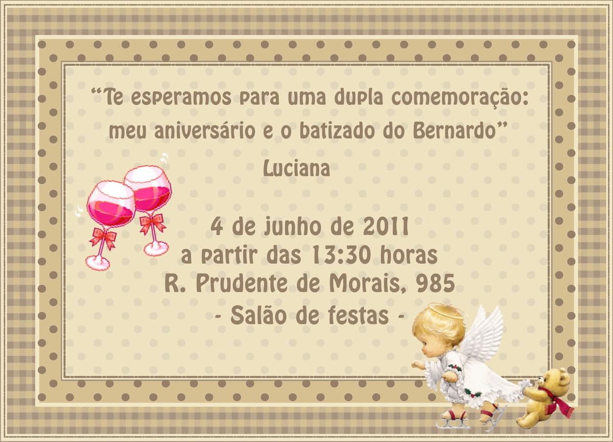 Excepcional Convite Virtual Adulto no Elo7   Arte Papel Flávia (3051B3) NG97